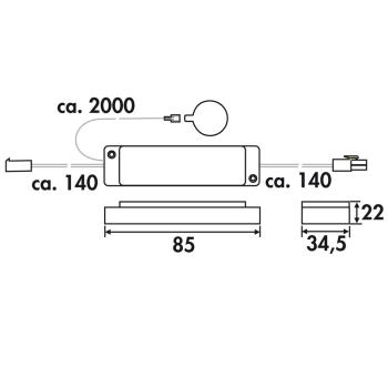 Touch Schalter für LED Beleuchtung