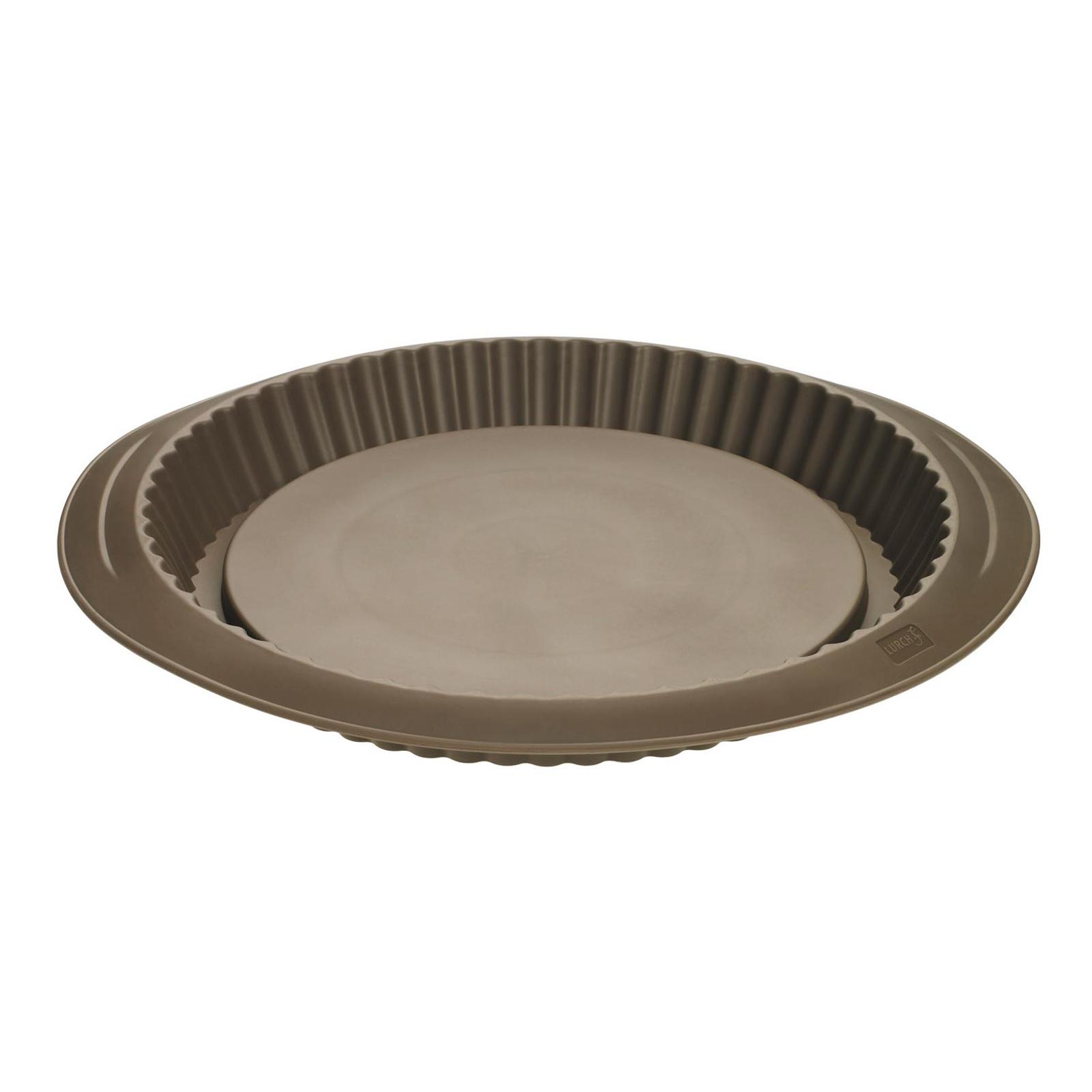 Obstboden 28 cm Backform Kuchenboden Flexiform Silikon braun