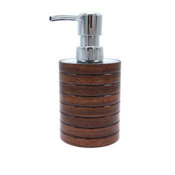 Seifenspender Serie Wood braun in Holzoptik
