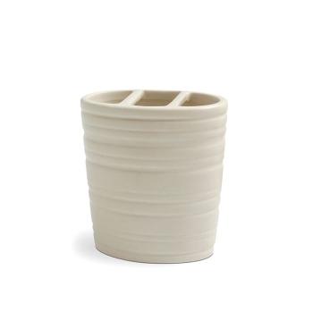 Keramik Zahnbürstenhalter Serie Crema