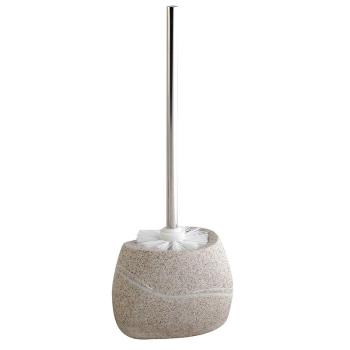 WC-Garnitur Serie Stone beige Steinoptik