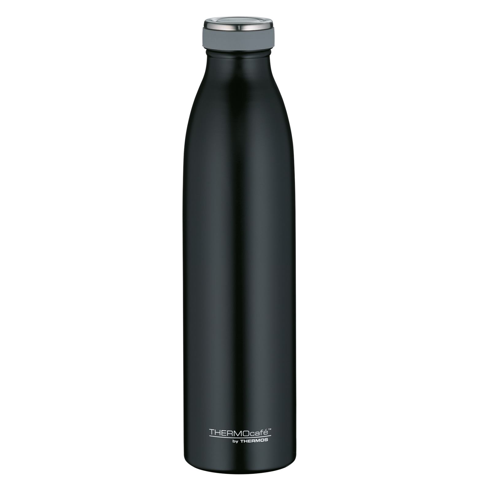 TC Bottle Thermosflasche Schwarz Matt 0,75 Liter Isolierflasche