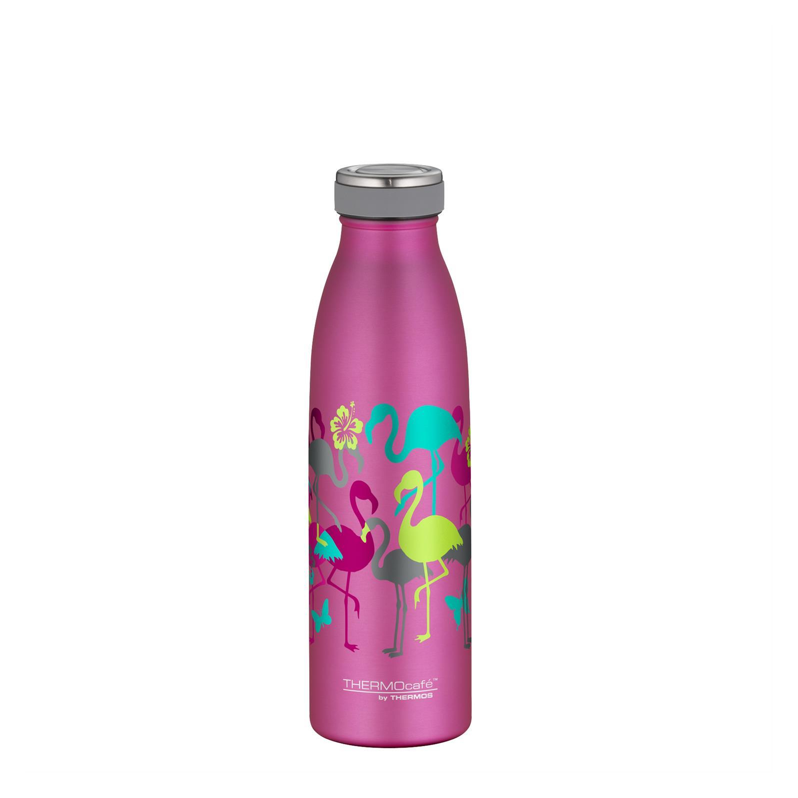 TC Bottle Thermosflasche Flamingo Pink Matt 0,5 Liter Isolierflasche