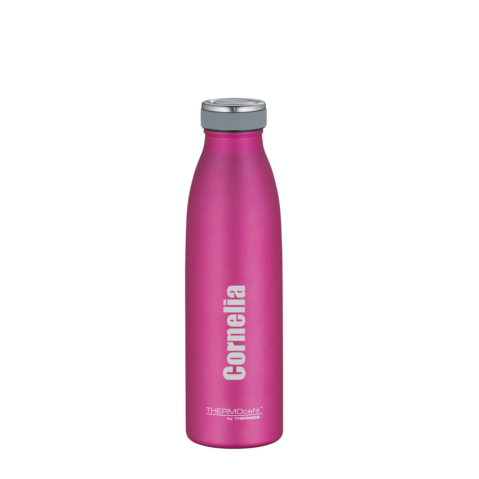 Personalisierte TC Bottle Thermosflasche Pink Matt 0,5 Liter Isolierflasche