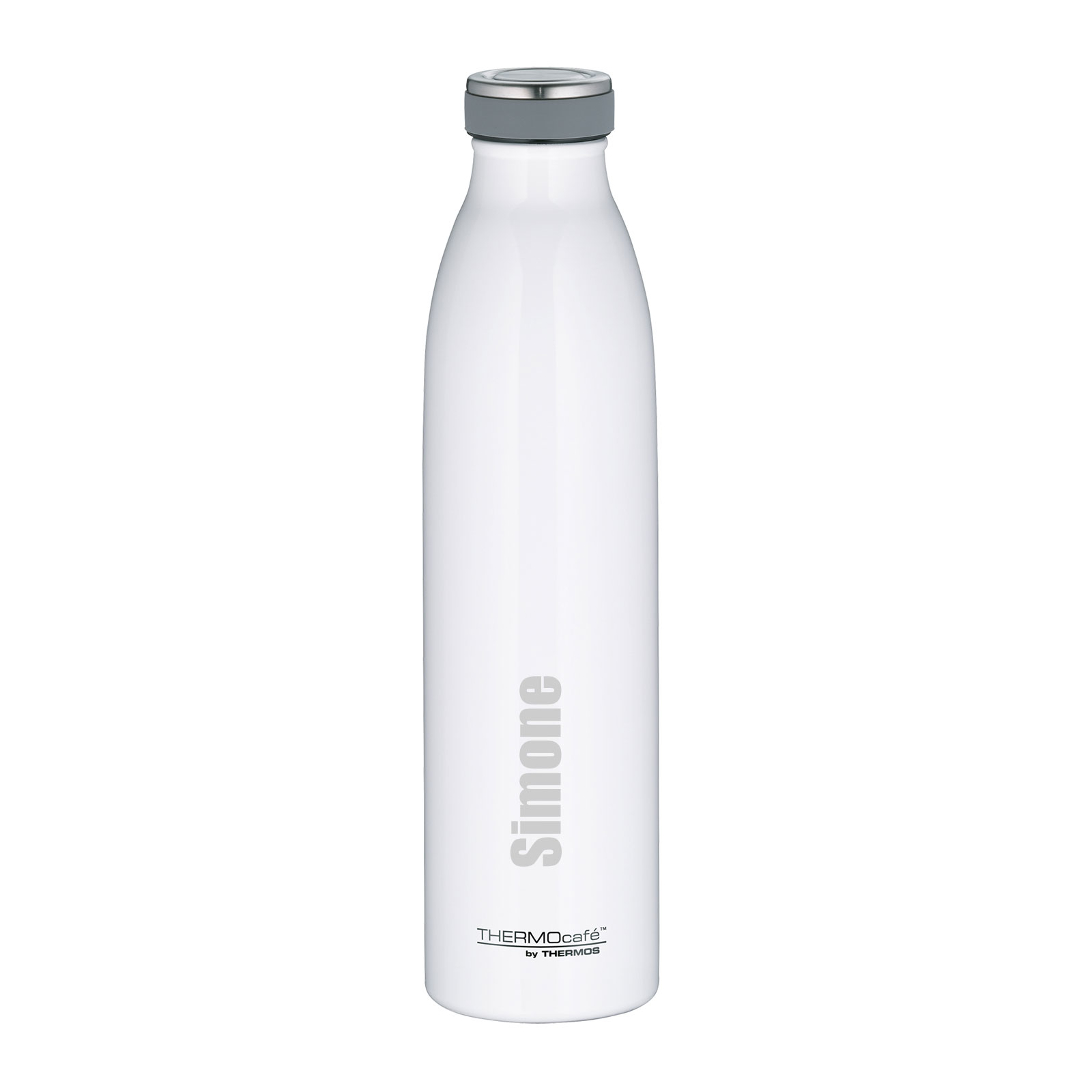 Personalisierte TC Bottle Thermosflasche Weiß 0,75 Liter Isolierflasche