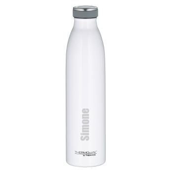 Personalisierte TC Bottle Thermosflasche Weiß 0,75...