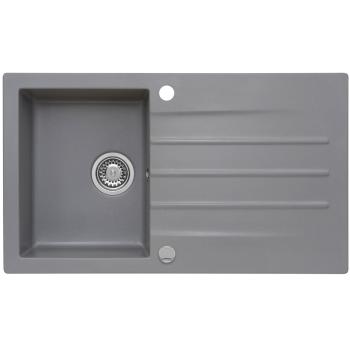 Granitspüle Mojito 100 Moonlight Grey 86x50 cm