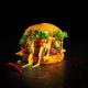 Burger Buns Lurch Flexiform Size M Ø 8,5cm 6-fach braun