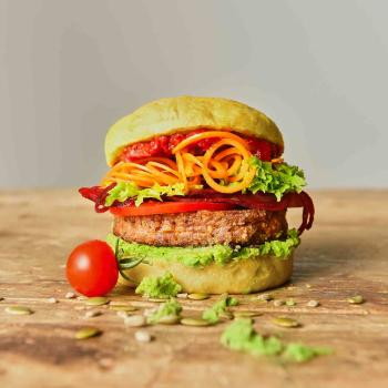 Burger Backform große Buns Ø 10 cm Silikon Brötchenbackform