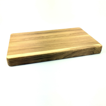 Hackbrett Tranchierbrett 40 x 25 cm Holz massiv Eiche...