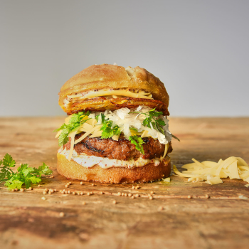 Burgerpresse 3-teilg iron grey Hamburgerpresse Patty Maker
