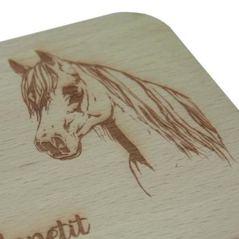 Frühstücksbrettchen Horse II Pferdekopf &...
