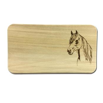 Frühstücksbrettchen Horse Pferdekopf 225 x 125...