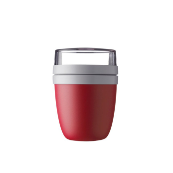 Lunchpot Ellipse Nordic Red 500 ml + 200 ml