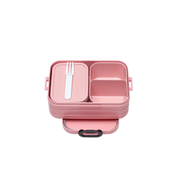 Bento Lunchbox Take a Break midi Nordic Pink 900 ml mit...