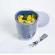 Fruit Pot Ellipse Nordic Denim