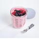 Fruit Pot Ellipse Nordic Pink