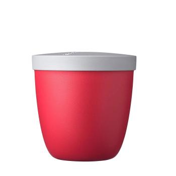 Snack Pot Ellipse Nordic Red 500 ml