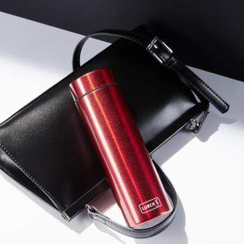 Lurch Isolierflasche Lipstick 0,3 Liter Poppy Red