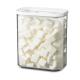 4er Set Vorratsdosen Modula 1500 ml - Weiß