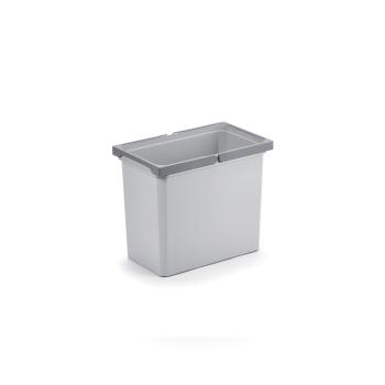 Ersatzeimer 22 Liter hellgrau für Abfallsammler Cox...