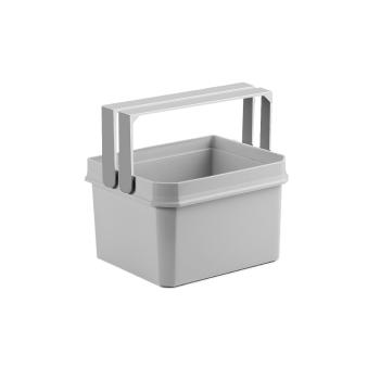 Cox® Base Einzeleimer 4 Liter hellgrau für Abfallsammler Cox Base