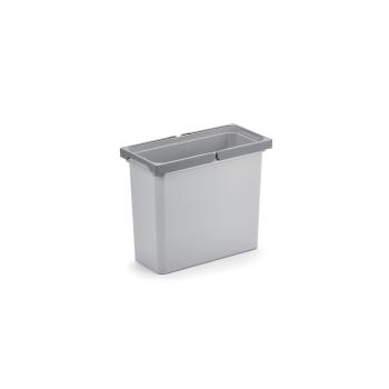 Ersatzeimer 16 Liter hellgrau für Abfallsammler Cox...