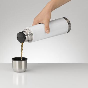 Isolierflasche perfectTherm Eco 0,75 Liter Weiß