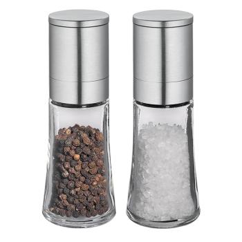 Cilio Set Salz- & Pfeffermühle BARI satiniert 14 cm