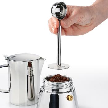 Cilio Espressodrücker und Kaffeemaß Edelstahl