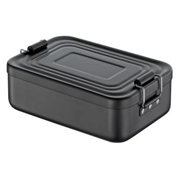 Lunchbox Aluminium eloxiert matt