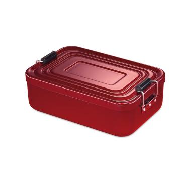 Lunchbox Aluminium eloxiert glänzend