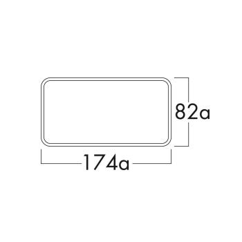 Klima-E flow125 Mauerkasten COMPAIR® flow 125 - 4033022