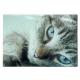 Frühstücksbrettchen Glas 28,5 x 20 cm Katze