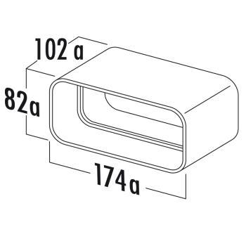 MF-RVB Rohrverbinder COMPAIR® flow 125