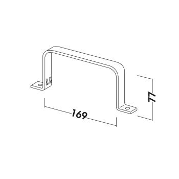 MF-RSS Flachkanalhalterung COMPAIR®flow 125 - 4033025