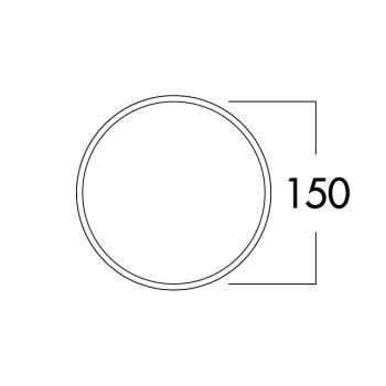 E-Jal Col® flow 150 Mauerkasten inkl. Thermobox weiß/Edelstahl