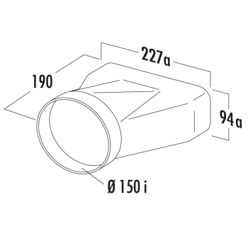 F-est Endstück COMPAIR®flow 150 - 4043006 Adapter