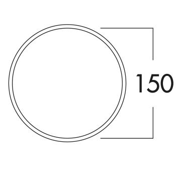 E-Klima-E 150 Mauerkasten COMPAIR® Edelstahl