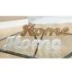 Gilde Handwerk Schriftzug Home aus Holz Breite 39 cm