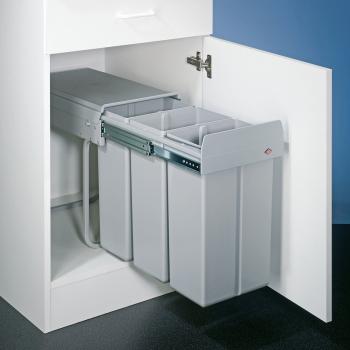 Abfallsammler Trenta 1 - 3 x 10 Liter