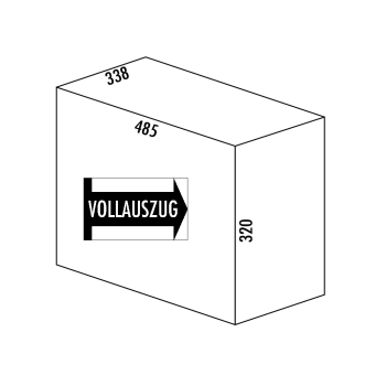 Abfallsammler Mülltrennsystem Trenta 6 Volumen 32...
