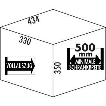 Hailo Tandem S 3 Raumspar Abfallsammler 2-fach Trennung