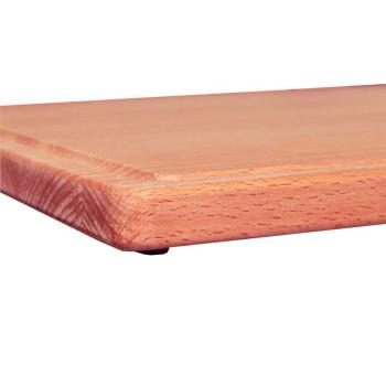 Schneidbrett Tranchierbrett Holz massiv Buche geölt...