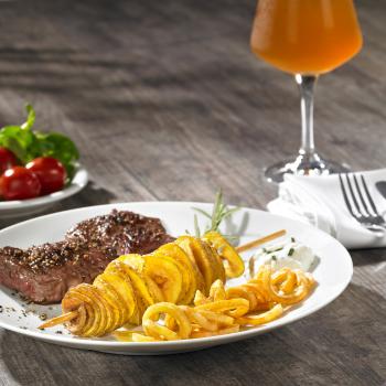 Lurch Super Spiralschneider anthrazit/creme Gemüseschneider
