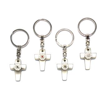 Gilde Handwerk Schlüsselanhänger mit Kreuz...