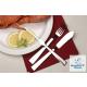 Studio Fisch- und Steakbesteck Limonia 24 tlg. Edelstahl