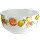 """Frühstücksschale Serie """"Fresh Fruits"""" Knochenporzelan 500 ml Höhe 6,5 cm"""