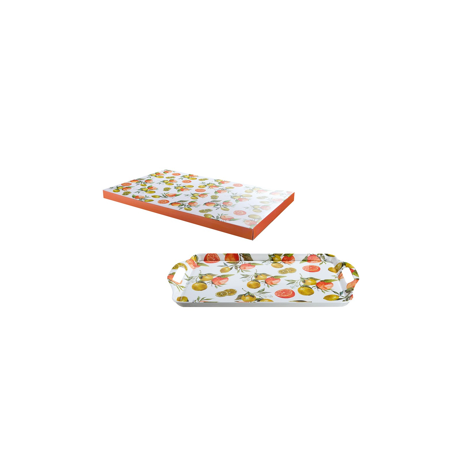 Tablett Serie Fresh Fruits 100% Melamin 48,5 x 29,5 x 2,5 cm